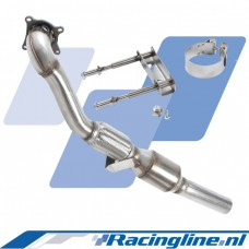 VWR 2.0 TFSI Front Exhaust System with high flow Catalyst
