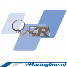 VWR R Logo Solid Metal Key Ring